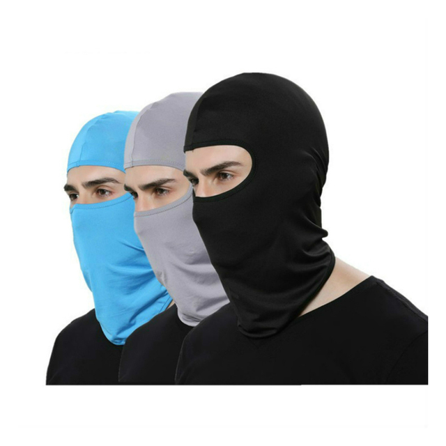 Motorcycle Face Mask Cycling Ski Neck Balaclava Full Face Hat Mask Cover Winter Warm Outdoor Windproof Breathable Mask 1