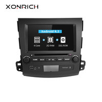 Xonrich Android 8.1 Car DVD GPS Player Navi For Mitsubishi Outlander 2007 2011 2G+16 Quad Core AutoRadio Multimedia Stereo Wifi