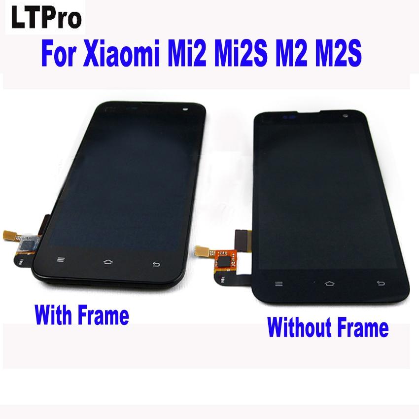 Ltpro высокое качество тестирование работы ЖК-дисплей Дисплей Сенсорный экран планшета в сборе с рамкой для Xiaomi mi2s mi2 M2S m2 2 S Запчасти
