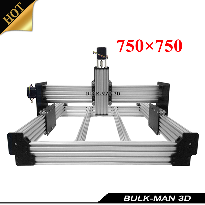 OX Upgrade Version WorkBee CNC Mechanical Kit for DIY CNC Engraving Machine,Milling Machine,Wooding Router 750*750mm workbee cnc aluminum plates kit lead screw driven and belt version for workbee cnc router machine cnc engraving machine