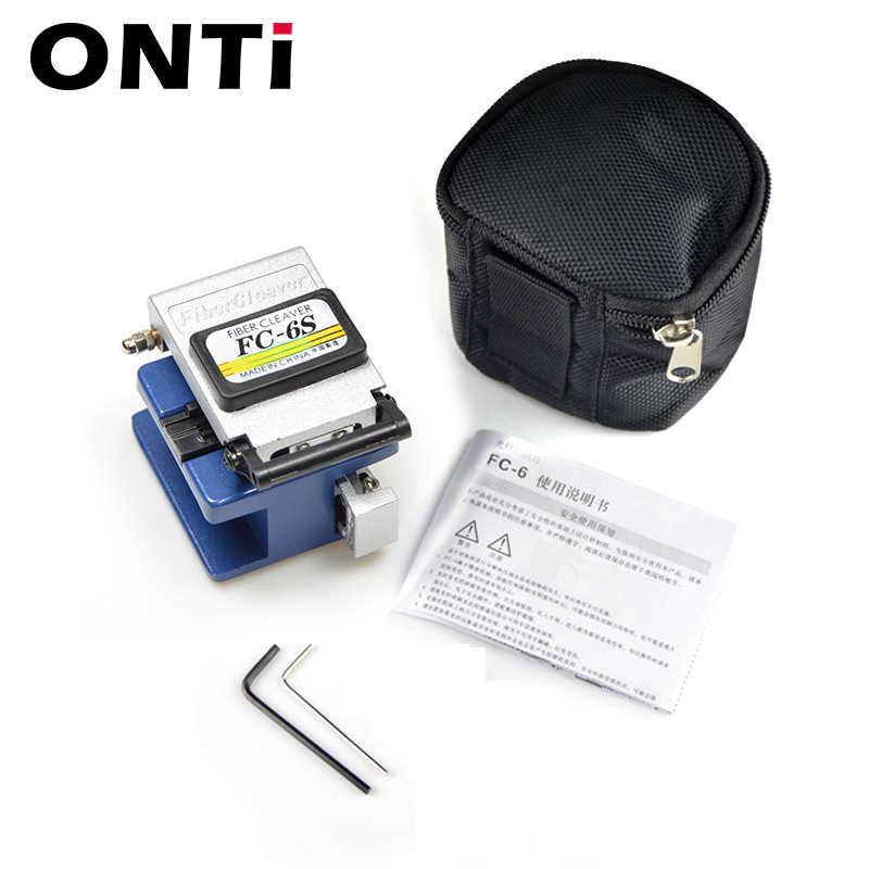 12 unids/set kit de herramientas ópticas para FTTH con medidor de potencia óptico 30km localizador de fallas visuales FC-6S de fibra de cuchilla pelador de cables