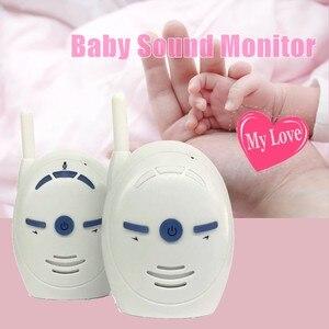 Image 2 - 2.4 ghz Draadloze Infant Babyfoon V20 Draagbare Audio Walkie Talkie Kits Baby Telefoon Alarm Kids Radio Intercoms Nanny Babysitter