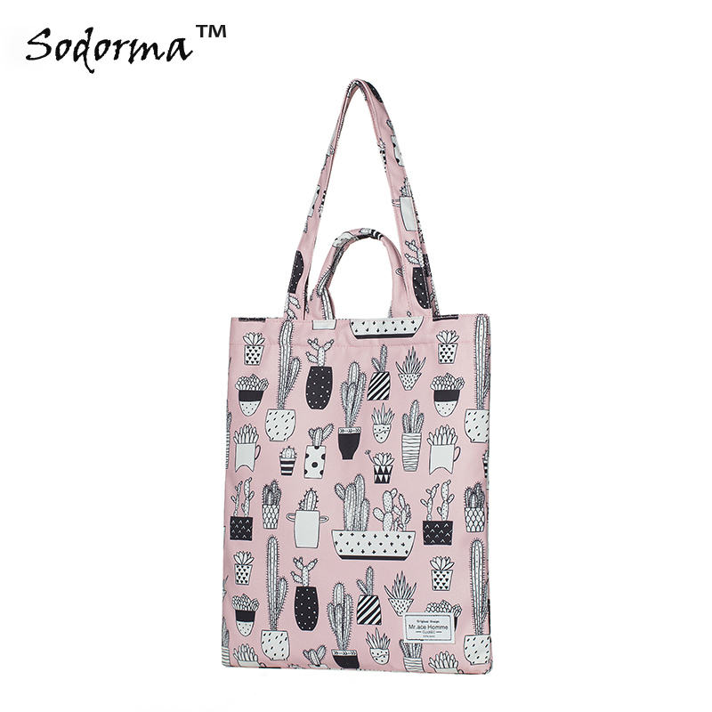 Fashion cartoon printing Tote bag student lunch bag women shoulder bag handbag shopping bag luxury brand lunch bag for women kids men oxford cooler lunch tote bag waterproof lunch bags insulation package thermal food bag
