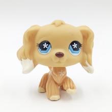 font b pet b font shop lps toys 748 cream tan cocker spaniel littlest dog