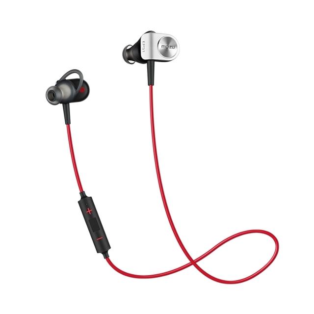Original meizu ep51 wireless bluetooth headset auricular estéreo impermeable apt-x auriculares deportes con micrófono aleación de aluminio