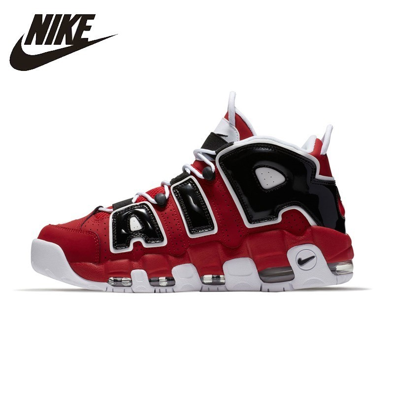 NIKE AIR MORE UPTEMPO Original Mens & Womens Basketball Shoes Stability Support Sports Sneakers For Men And Women Shoes shoes and more сандалии