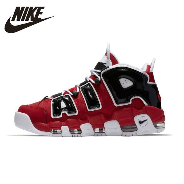 701e3181f14f9d NIKE AIR MORE UPTEMPO Original Mens   Womens Basketball Shoes Stability  Support Sports Sneakers For Men