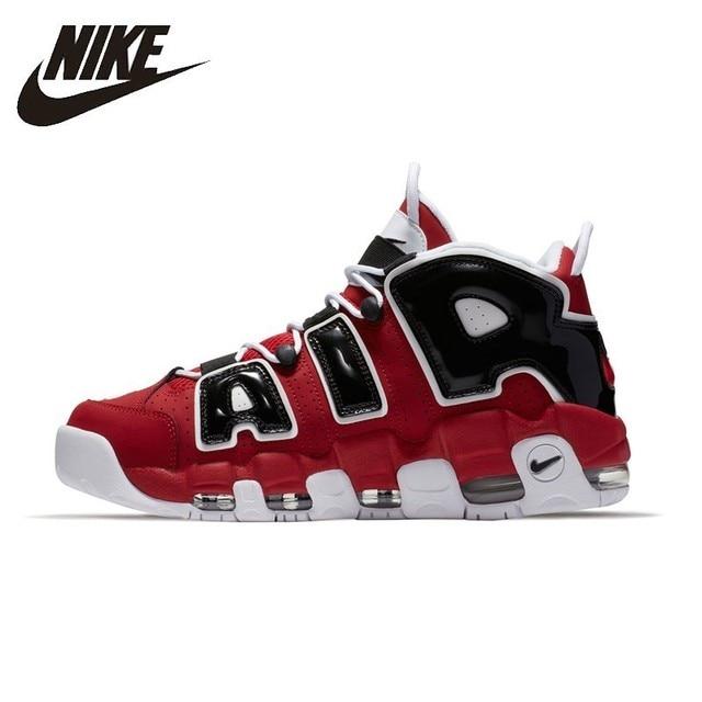 competitive price 65ac7 31397 NIKE aire más UPTEMPO Original para hombre y para mujer zapatos de  baloncesto de la estabilidad