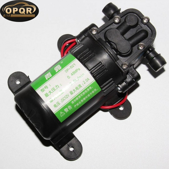 High Pressure Auto Diaphragm Water Pump 12V Self-Priming Water Pump For Water Purifier Pressurizer Caravan Boat car washer 220v household high pressure cleaner self suction cleaner water jet brush pump self washing pump
