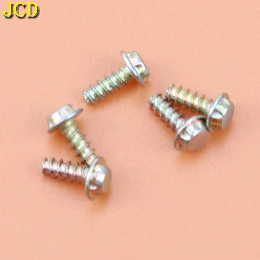 Jcd 5 pçs 3.8mm 4.5mm parafusos de bit de segurança para nintendo nes snes n64 para gameboy gb console & cartucho caso parafusos