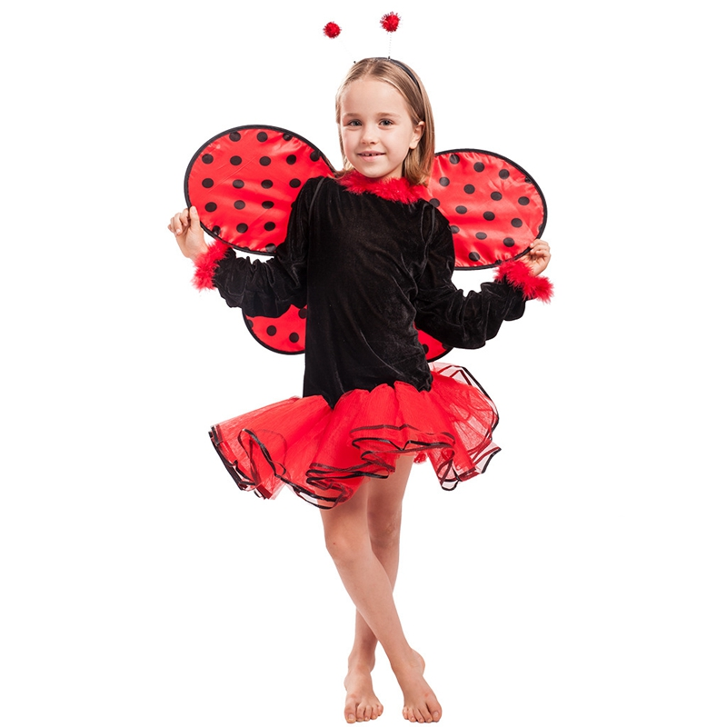 Child Lovely Ladybug Ladybird Girl Fancy Dress Costume Outfit Book Week-in  Girls Costumes from Novelty & Special Use on Aliexpress.com | Alibaba Group