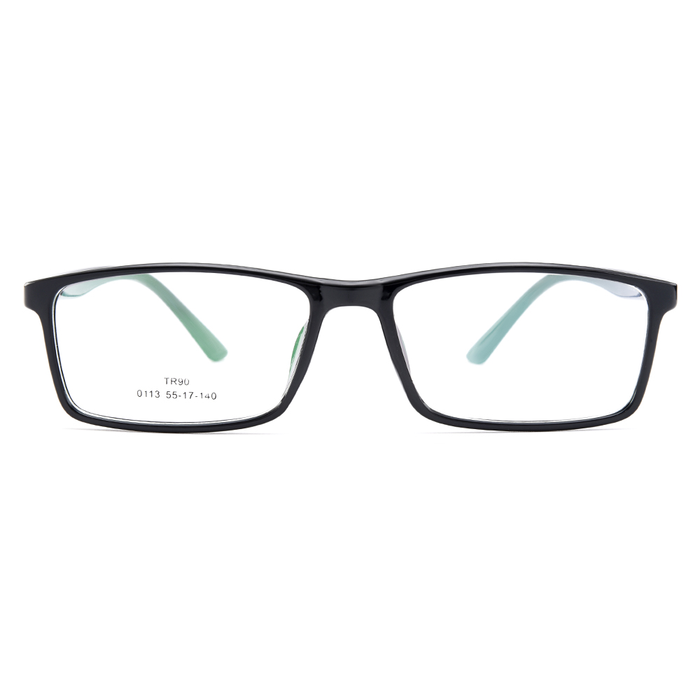 fa89e9ecc5a BAONONG New Arrival Simple Design Black Extra Thin TR90 Optical Eyeglasses  Full Rim Frames For Men s Prescription Glasses W0113-in Eyewear Frames from  ...