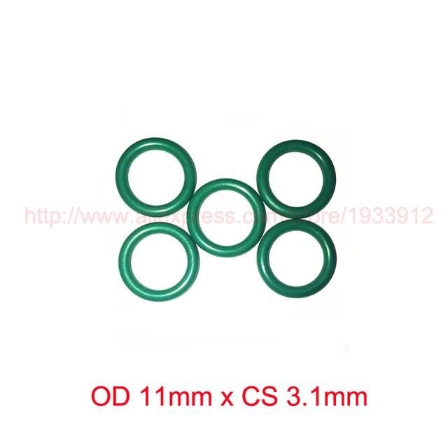 OD 11mm x 3.1mm o anel de vedação de borracha o anel oring viton fkm ...