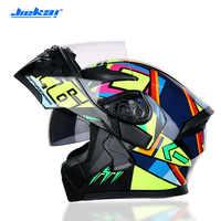 New JIEKAI DOT Approved Motorcycle Helmet Safety Helmet Racing Motocross Capacete Quad Dirt Bike Helmet Six Colors Available