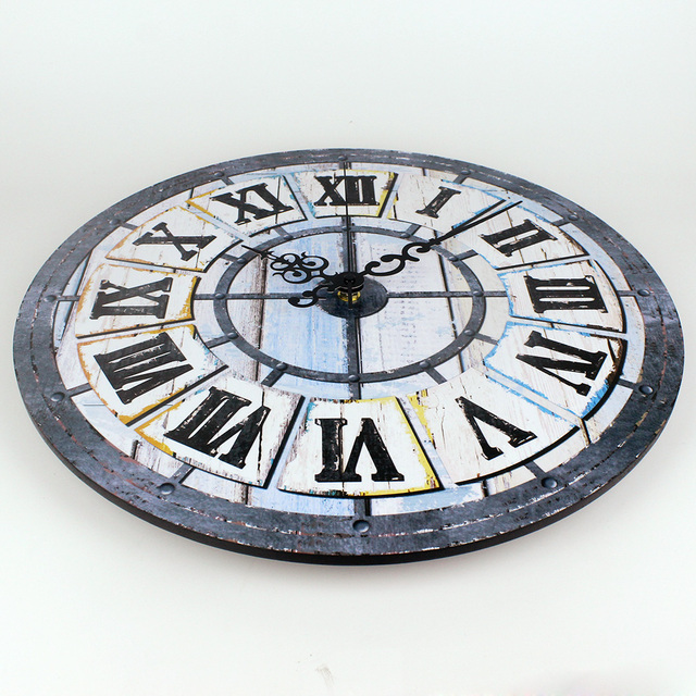 Retro Roman Silent Wall Clock