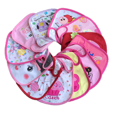Anna & Joyce 15Pc/lot Baby Bibs Cute Cartoon Pattern