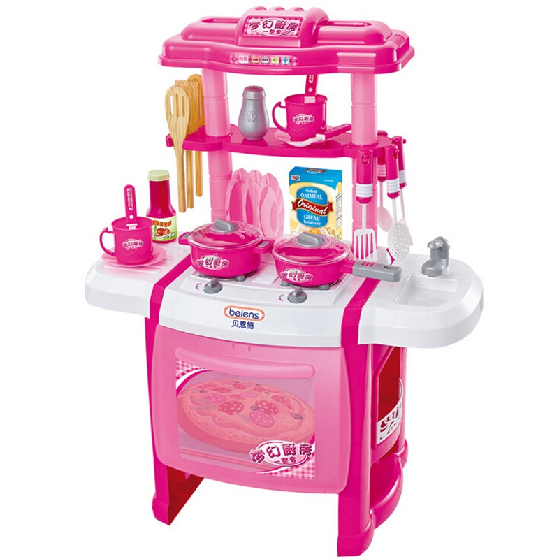 Play Kitchen Set For Girls Compare Prices On Electronic Play Kitchen Online Shoppingbuy Low