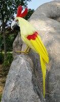 محاكاة رغوة و الريش حوالي 30 سنتيمتر الببغاء طائر الببغاء اليدوية ، تأثيري ، حديقة الديكور لعبة هدية a1808
