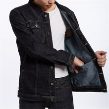 Plus Size 8XL 7XL 6XL Men's Denim Jackets Trend Fashion Cowboy Motorcycle Jacket Coats Clothing Male Casual Loose Outwear(China)