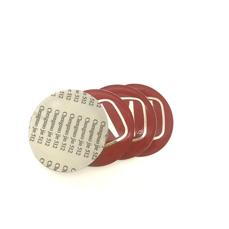 купить 4pcs/ Lot 56.5mm 6.0mm Car Steering tire Wheel Center car sticker Hub Cap Emblem Badge Decals Symbol For Honda car-styling по цене 189.91 рублей