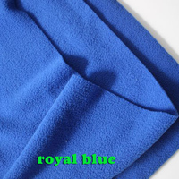 Royal Blue Double Sided Polar Fleece Fabric Anti Pilling Hoodies Blankets Lining Fabric SOLD BY THE