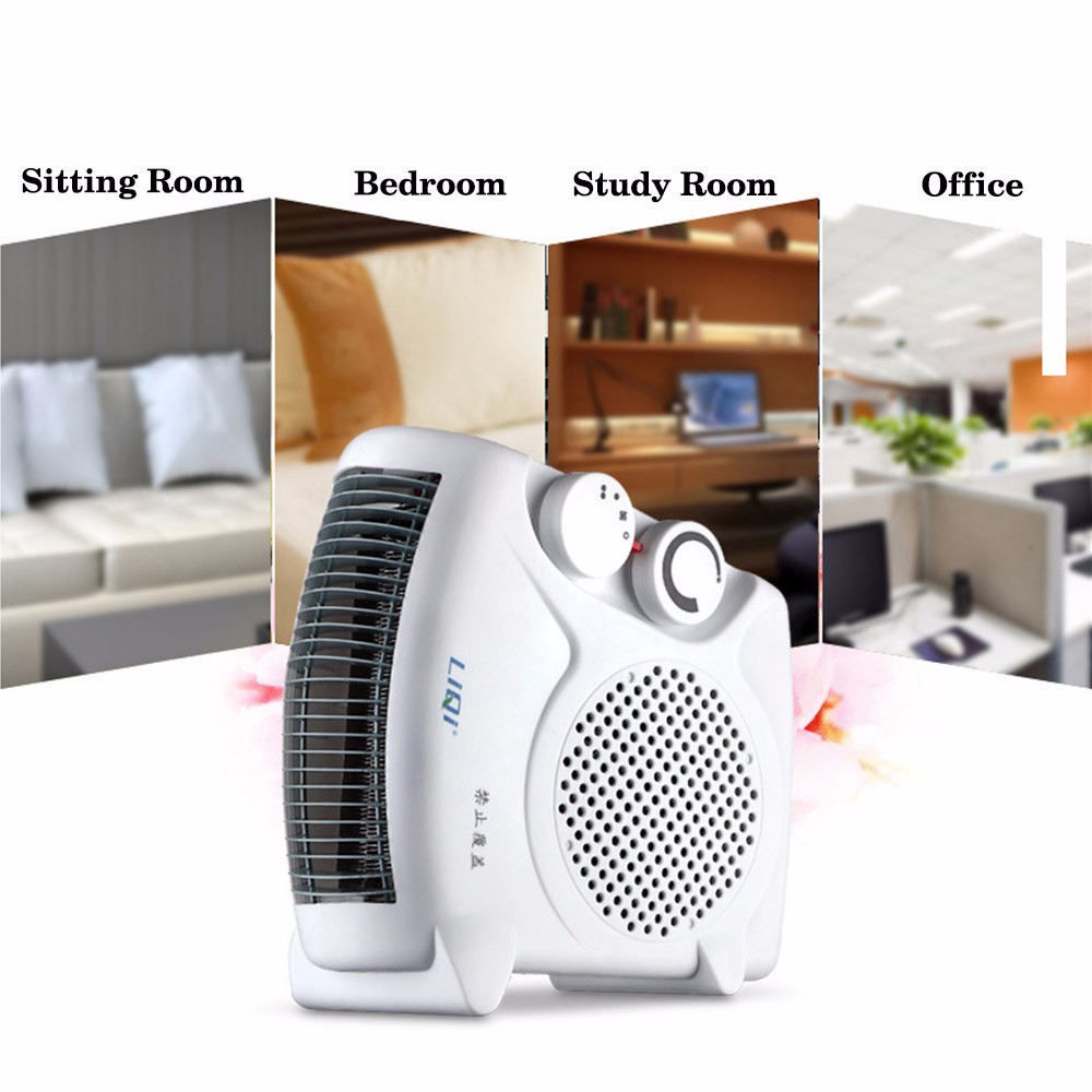 Russia 220V Electric Heater Warm Air Blower Mini Fan Heater Electric Warmer For Sitting Room Bed Room