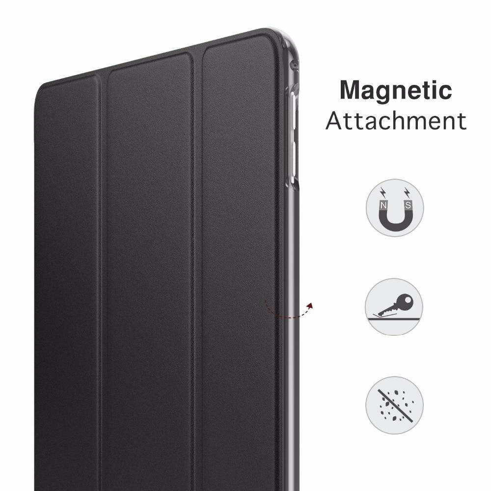 inteligente escudo suporte capa com translúcido fosco