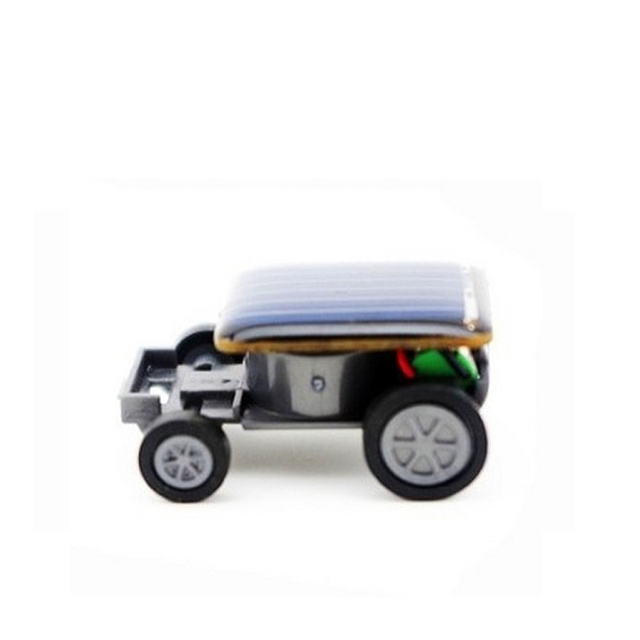 Solar Energy Mini Car Toy Novelty Cars 130mah Cur Funny Racing Educational Gadget