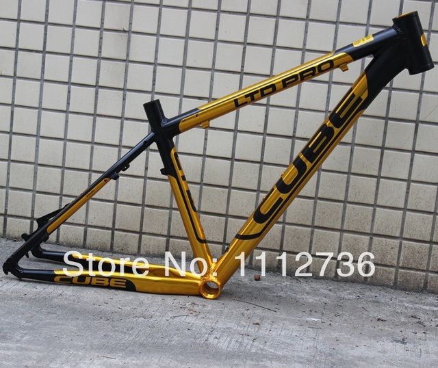 Free Shipping Germany Cube Ltd Pro Mountain Frame Lightweight Alloy