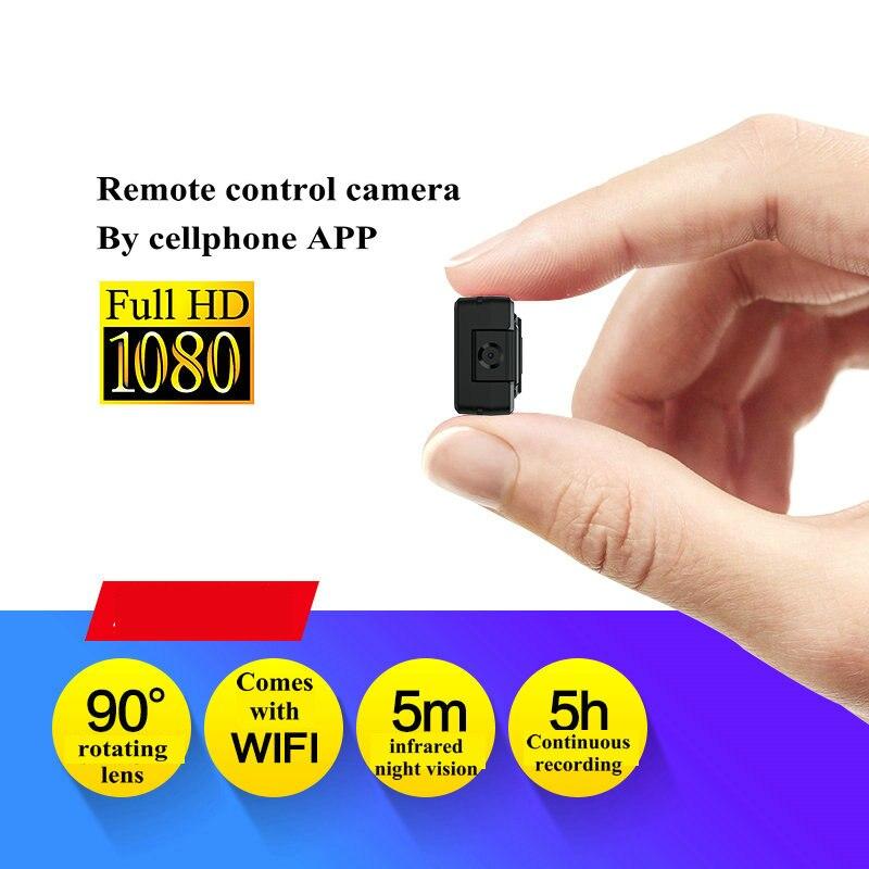 Image 5 - Vandlion Mini Digital Camera WIFi Cam Night Vision 1080P Video  Camcorder Small Micro Camera DV DVR Motion Detection Recorder A12Mini  Camcorders
