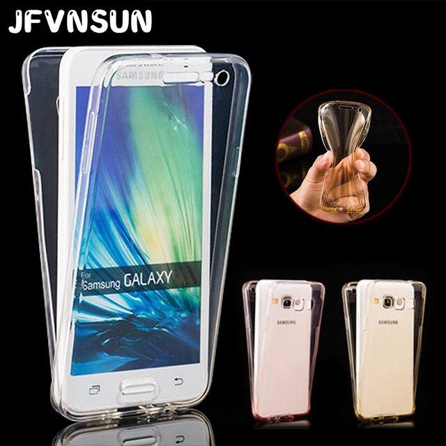 50250b565bf Para Samsung A5 caso para Samsung Galaxy A5 2016 a510 2017 a520f Slim  transparente TPU Soft