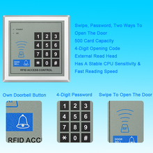 1PCS Access Control Keypad Door Lock Digital Panel RFID Card Keyboard Proximity  Card Reader For Door Access Control System tivdio wiegand tcp ip network entry access control board controller panel for 4 door 4 card reader generic f1715l