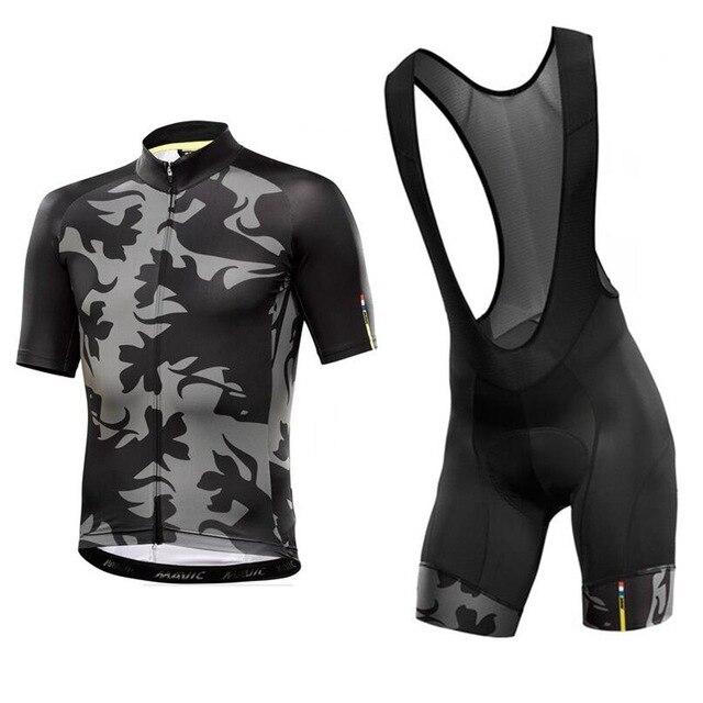 4e1eddbcc Mavic 2017 Cycling Jersey Summer Team Short Sleeves Cycling Set Bike  Clothing Ropa Ciclismo Cycling Clothing Sports Bib Shorts