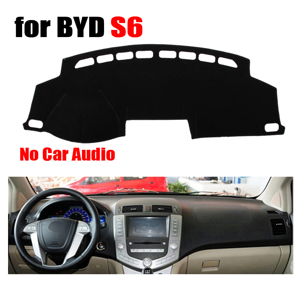 font b Car b font dashboard covers mat for BYD S6 Low configuration all the