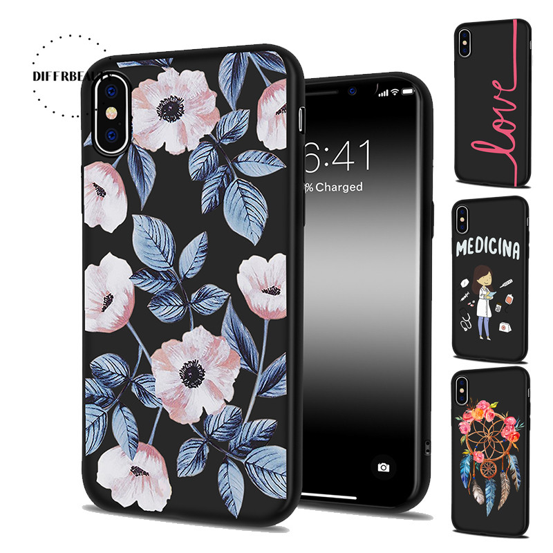 Phone Bags & Cases Rapture Diffrbeauty New Flower Simple Text Occupation Doctor Stripes Unicorn Phone Case For Iphone X 6 6s Plus 5 5s Se 7 7plus 8 8plus