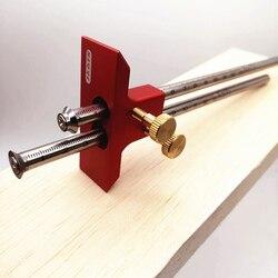 Europeu de duas cabeças scribe lâmina de madeira scribe-linha carpintaria cruz-para fora ferramenta ferramentas para trabalhar madeira