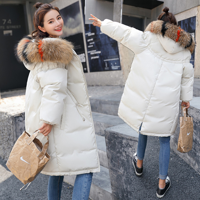 5e090ce7e45 2018 Maternity Clothes Winter Hooded Fashion Thicken Down Coat for Pregnant  Women Jacket Pregnancy Clothing Outerwear