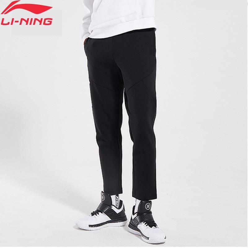 Li-Ning Men BAD FIVE Basketball Pants 66% Cotton 34% Polyester Regular Fit LiNing Li Ning Sports Pants Trousers AKLN811 MKY433