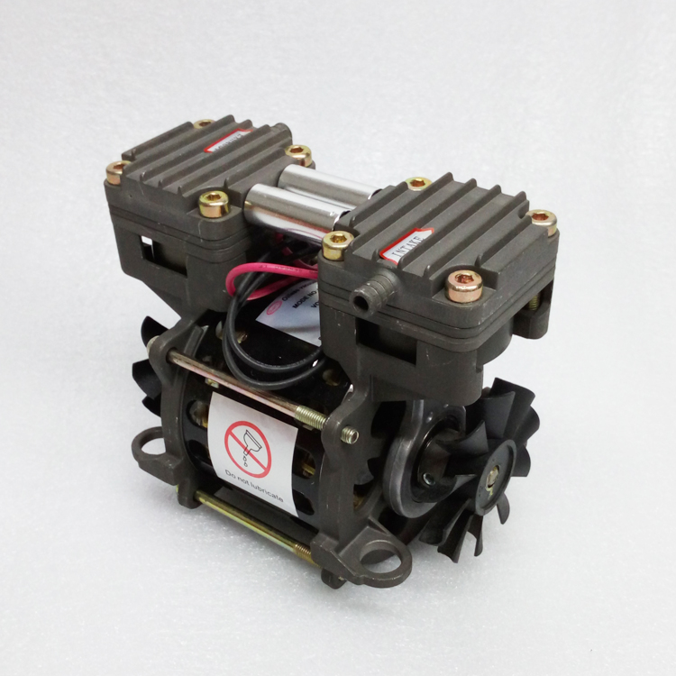 AC 220V 85W oil free piston pump high flow vacuum pump high flow 20L/min high vacuum air pump -85KPa/620mmHg 110V optional