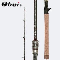 OBEI łowca potworów 803XXH Casting Spinning wędka z włókna węglowego 2.38m 20 80g moc sum przynęta wędka podróżna|Wędki|   -