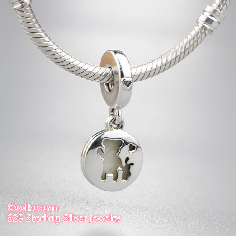 New Free Shipping Silver Plated Bead New York Highlights Dangle Charm Fit Original Pandora Bracelet Necklace Diy Women Jewelry Easy To Repair Jewelry & Accessories Beads & Jewelry Making