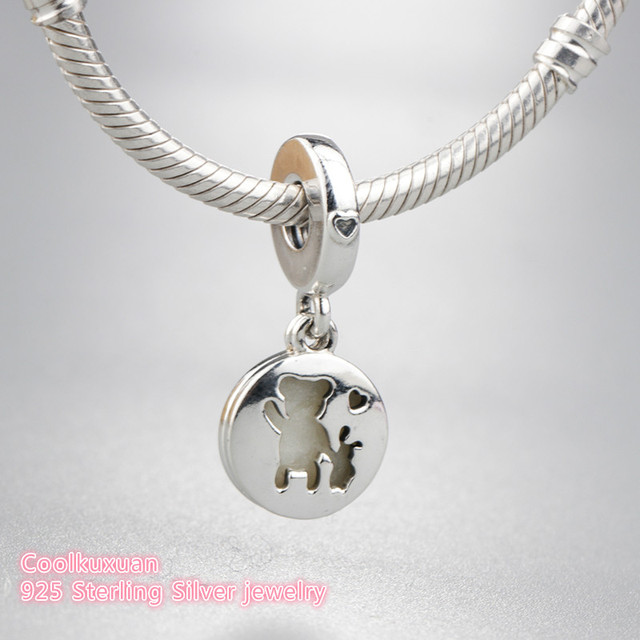 ffb4271ee 2018 Spring 925 Sterling Silver Perfect Pals Dangle Charm, Silver Enamel  Charm Beads Fit Original Pandora Charms Bracelet