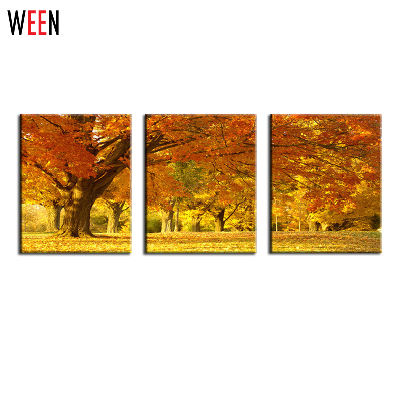3 panels frameless living room canvas printing decorative for Buy large canvas prints