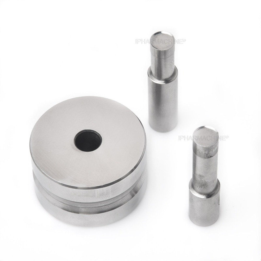 Sale TDP-1.5/0T 10mm Blank Bevel Edge Round Die Mold/ Pill Press Mold/Moulds for Single Punch Tablet Press Machine high quality manual single punch tablet pill press pill making machine maker tdp 0 free shipping