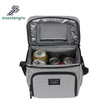 лучшая цена New Style Outdoor Picnic Bag Cooler Bag Oxford Cloth Picnic Bags Aluminum Foil Insulation Lunch Cold Box Picnic Bag