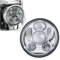 For Davidson Harley Street 750 Motorcycle 5.75 inch led headlight 5 3/4'' 45W Projector Headlamps for Harley Sportster 883