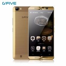 Gfive l3 5.5 «HD Quad Core Мобильный Телефон Android 5.1 2 ГБ RAM 16 ГБ MT6580M ROM 8.0MP 1280×720 P Двойной СИМ-Карты Смартфон 5000 мАч