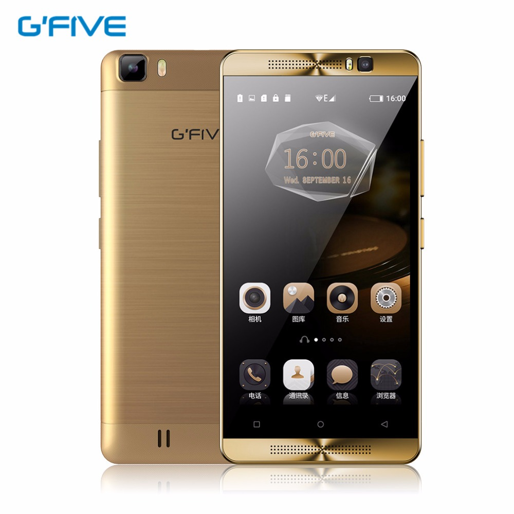 Gfive L3 5 5 HD Quad Core Smartphone 2GB RAM 16GB ROM MT6580M Android 5 1