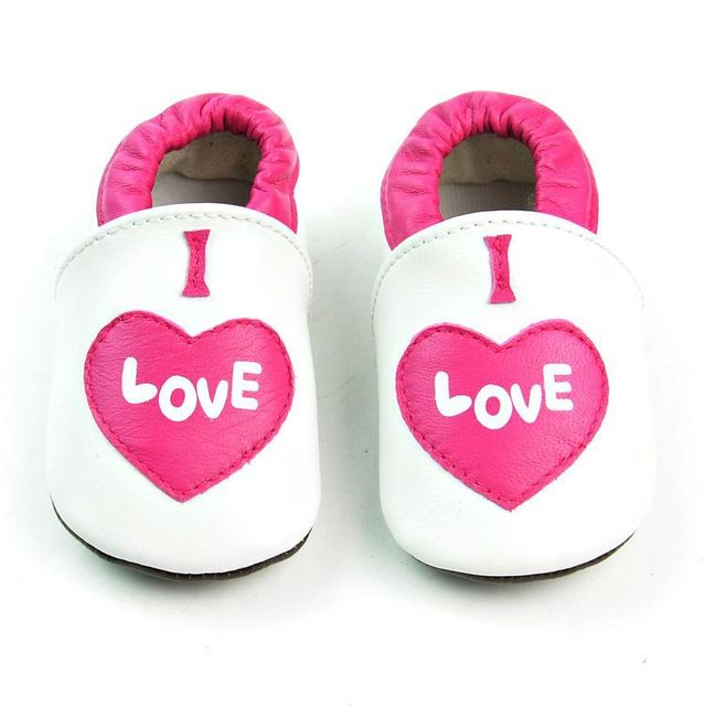2017 new spring baby girls shoes genuine leather soft sole heart princess calssic moccasins for toddler infant baby 0-18M