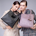 Zooler sacos mulheres marcas famosas elegante capacidade ol elegante saco de couro genuíno bolsa do vintage bolsa feminina #926